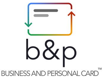 b&p card - business and personal card
